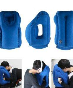 Inflatable Travel Pillow Travel Essentials