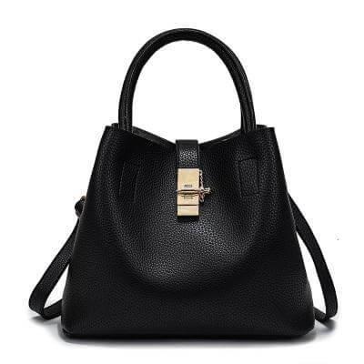 Vintage Women's Handbag Travel Bags & Backpacks Color: Black