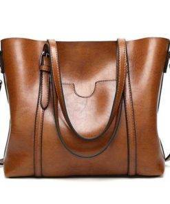 Women's Leather Handbag Travel Bags & Backpacks