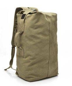 Mens Travel Canvas Backpack