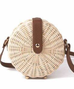 Bohemian Handmade Straw Bag Travel Bags & Backpacks