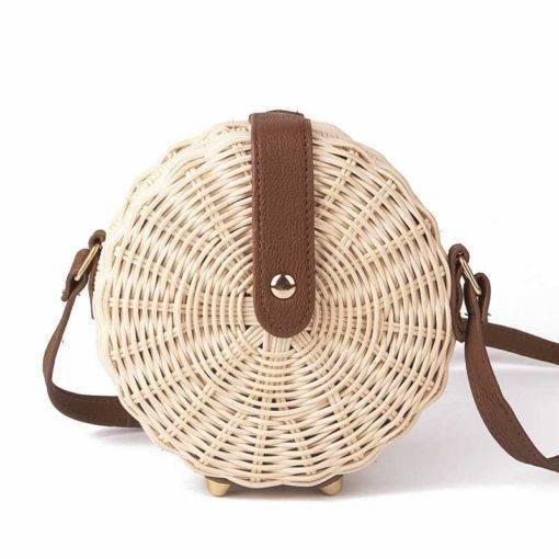Bohemian Handmade Straw Bag