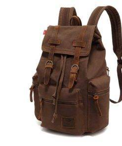Unisex Vintage Canvas Backpack