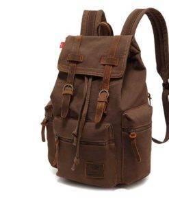 2019 Unisex Vintage Canvas Backpack Travel Bags & Backpacks