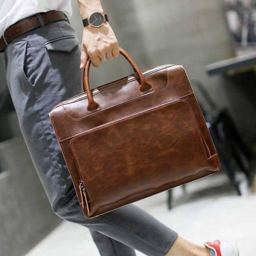 crazy horse pu leather messenger bag.jpg