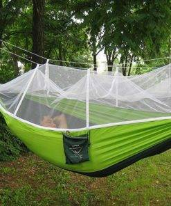 Outdoor Portable Hammock with Mosquito Net