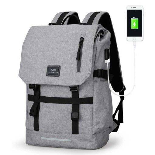 Large Capacity USB Travel Backpack