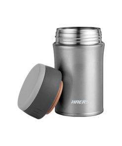 500 ml Thermos Stainless Steel Lunch Box with Folding Spoon Travel Essentials