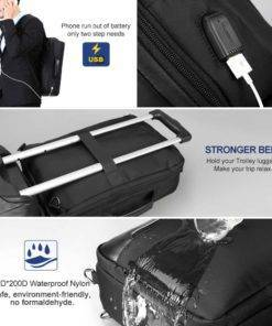 3-in-1 Multi-functional Travel and Business Backpack Travel Bags & Backpacks