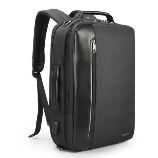 3-in-1 Multi-functional Travel and Business Backpack Travel Bags & Backpacks Color: Black