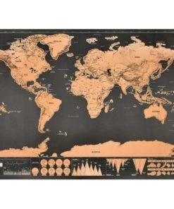 Scratch Off World Map Travel Essentials