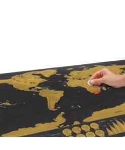 Scratch Off World Map Travel Essentials