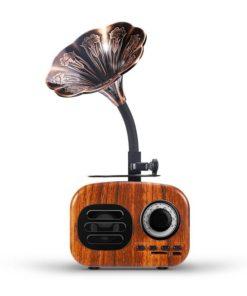Haut-parleurs de voyage Bluetooth rétro minimalistes